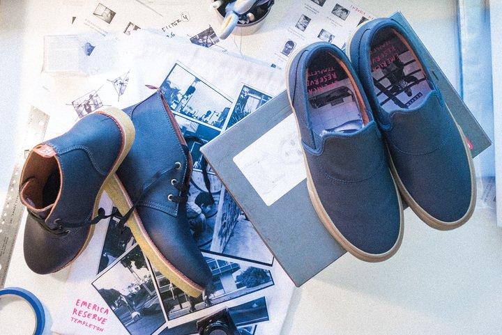 Ed Templeton's signature WINO G6 Slip-On & The Templeton Desert Boot