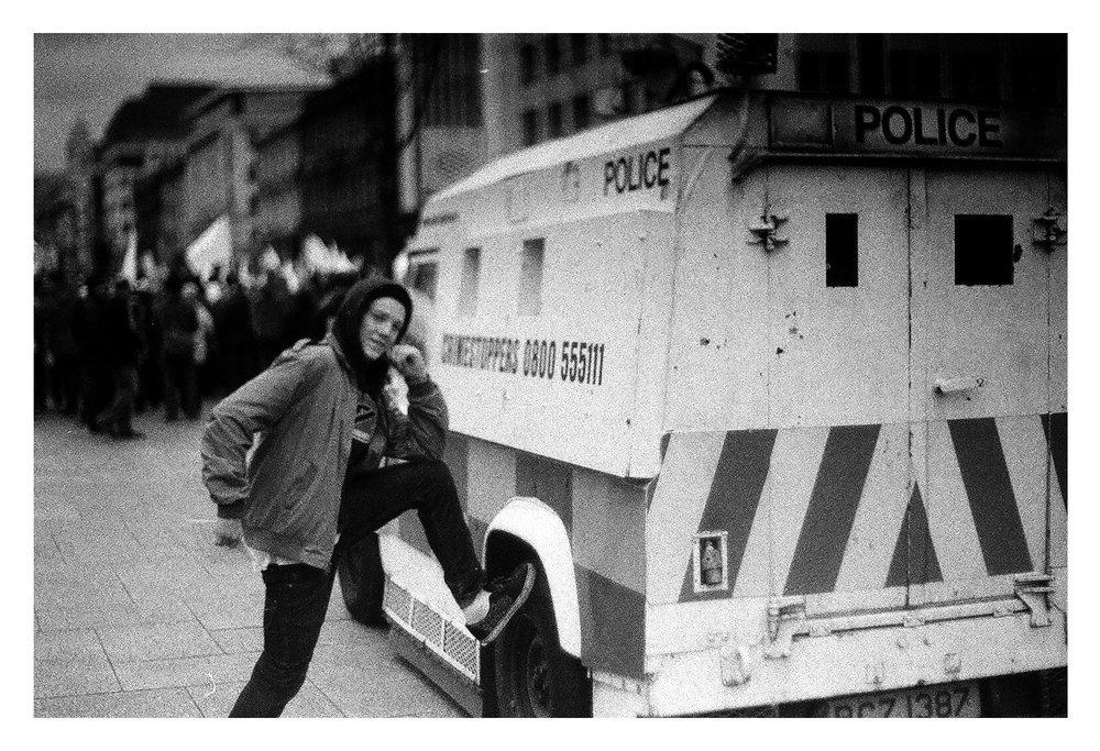 Stuart Robinson - Denis Lynn Police Van.jpg