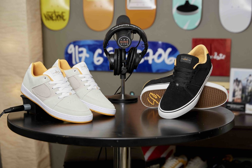éS Footwear X Nine Club Collection Skate Shoes