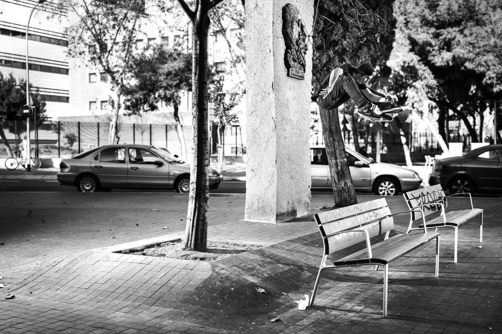 Fran_Molina_Frontside Flip_BE Skate Mag_Issue #01_Skate Pic.jpg
