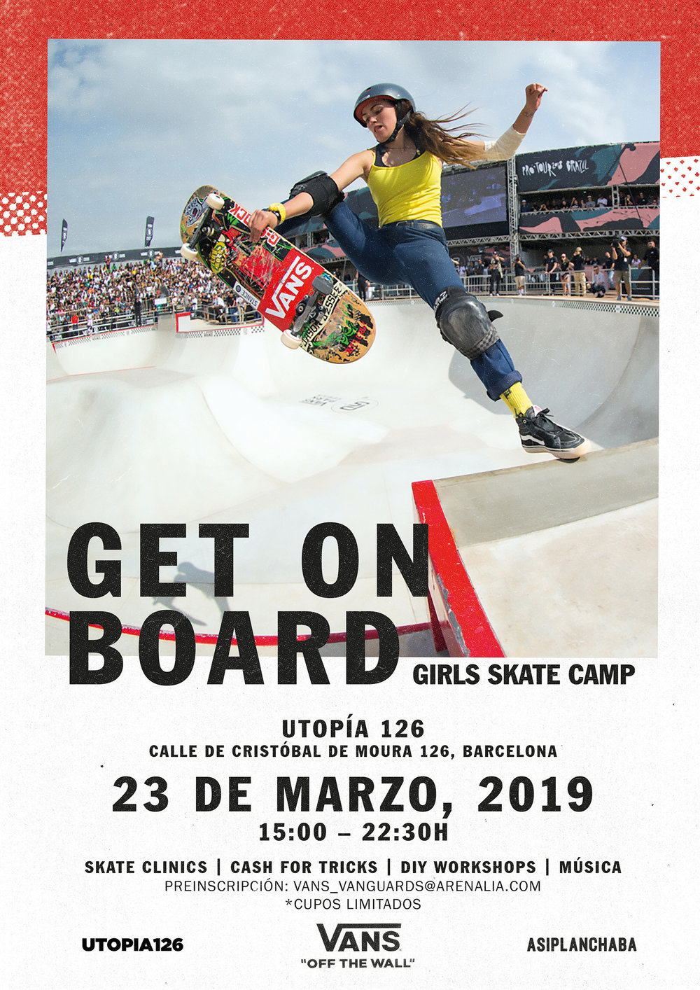 VANS GIRLS SKATE CAMP 2019 vanguards event
