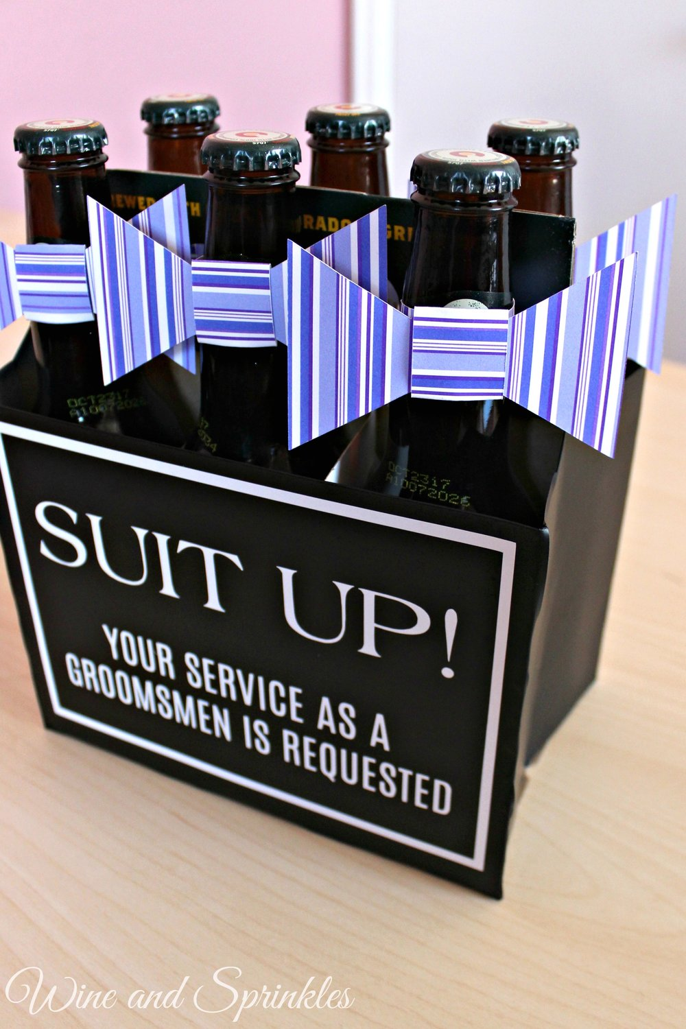 Beers and Bowties Groomsman Proposal #willyoubemygroomsman #bestman #groomsman