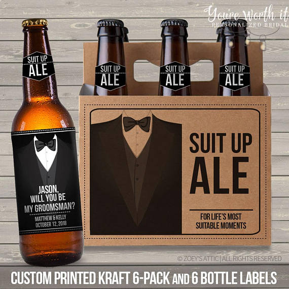 10 Groomsmen Groomsman Proposals under $15 #groomsmen #bestman #willyoubemygroomsman