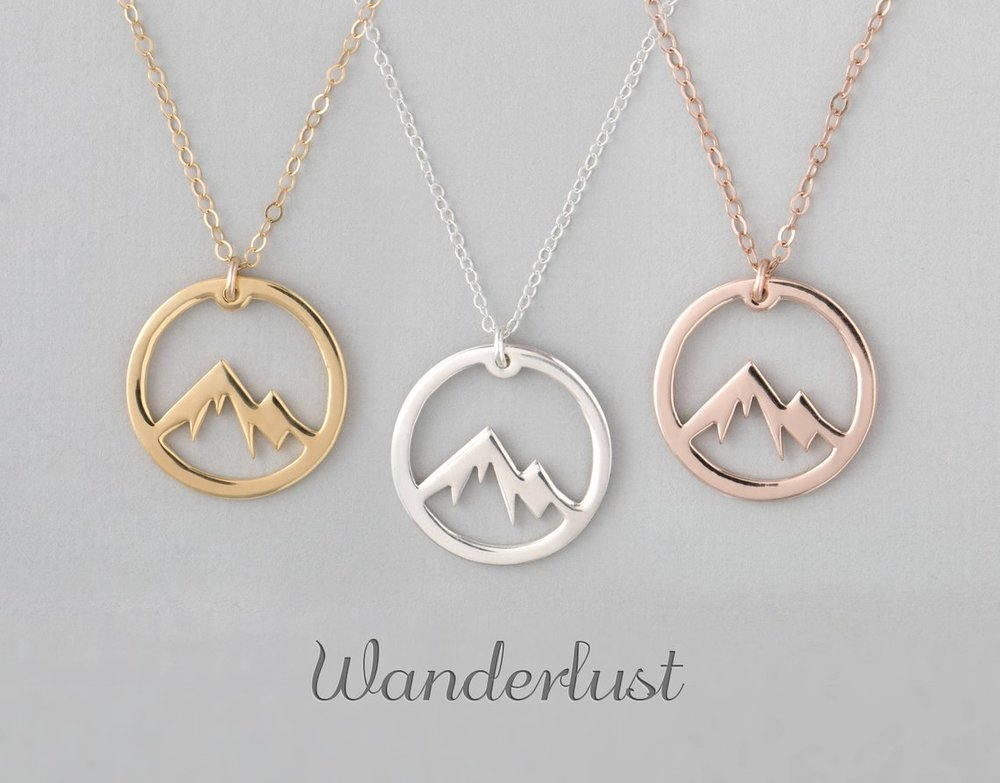 5. Mountain Range Necklaces.jpgUnique and Girly Gifts for Women Under $35 #giftsforher #cheapgifts #giftideas