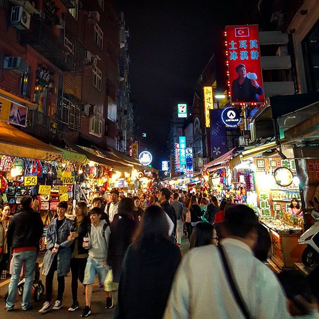 You can find just about anything on #tamsuioldstreet.  From unique gifts, drinks, food, street peformers, massages, ferry rides ... and yesterday ... well ... about half the population of #Taiwan.  #ChineseNewYear
