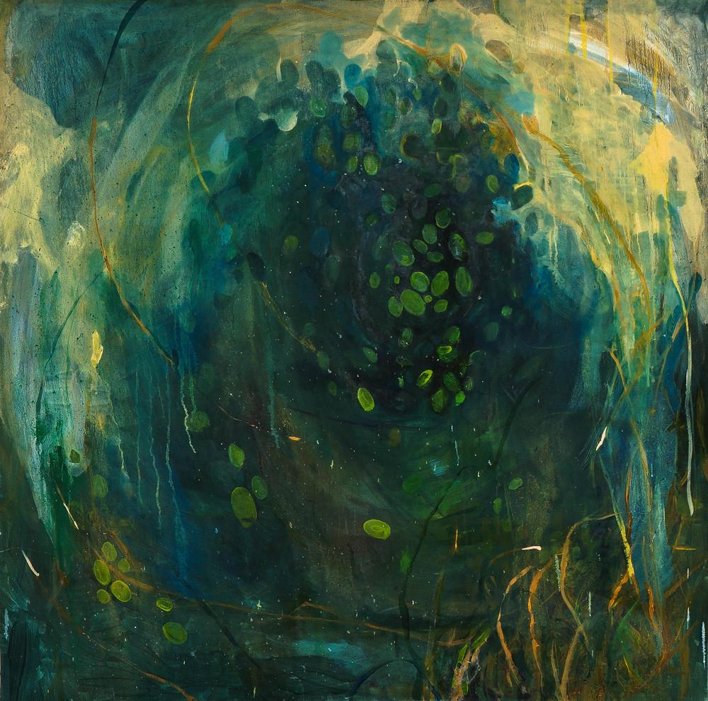 Pandapas, oil on canvas, 48 x 48 in, 2014