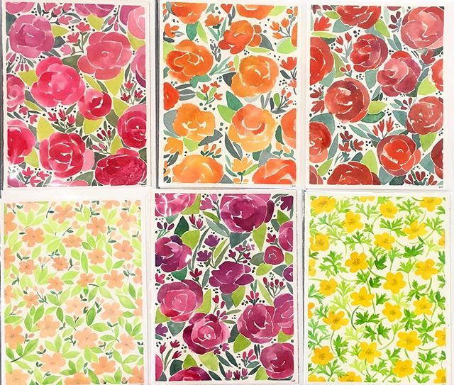 Buy your Mother's Day card at @thedistrictgallery 💁♀️ #watercolor #watercolorpainting #gouache #gouachepainting #greetingcards #handmadecards #Mothersday #mothersdaycards #mothersdayideas #stationery #handmadestationery #floral #florals #watercolorflowers #spring