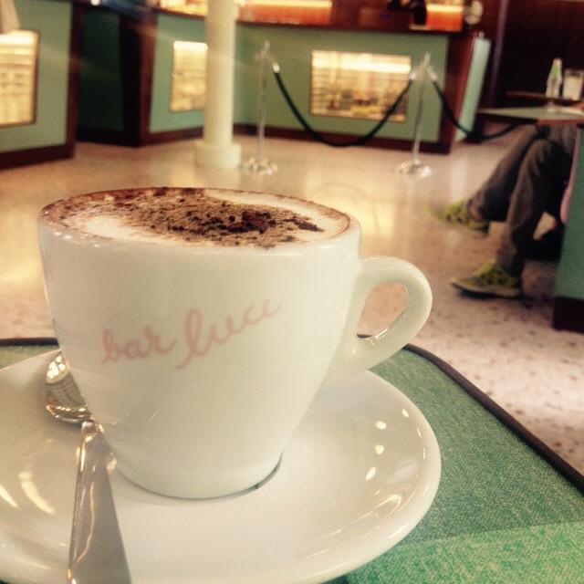 Cappuccino at Bar Luce, Milan.