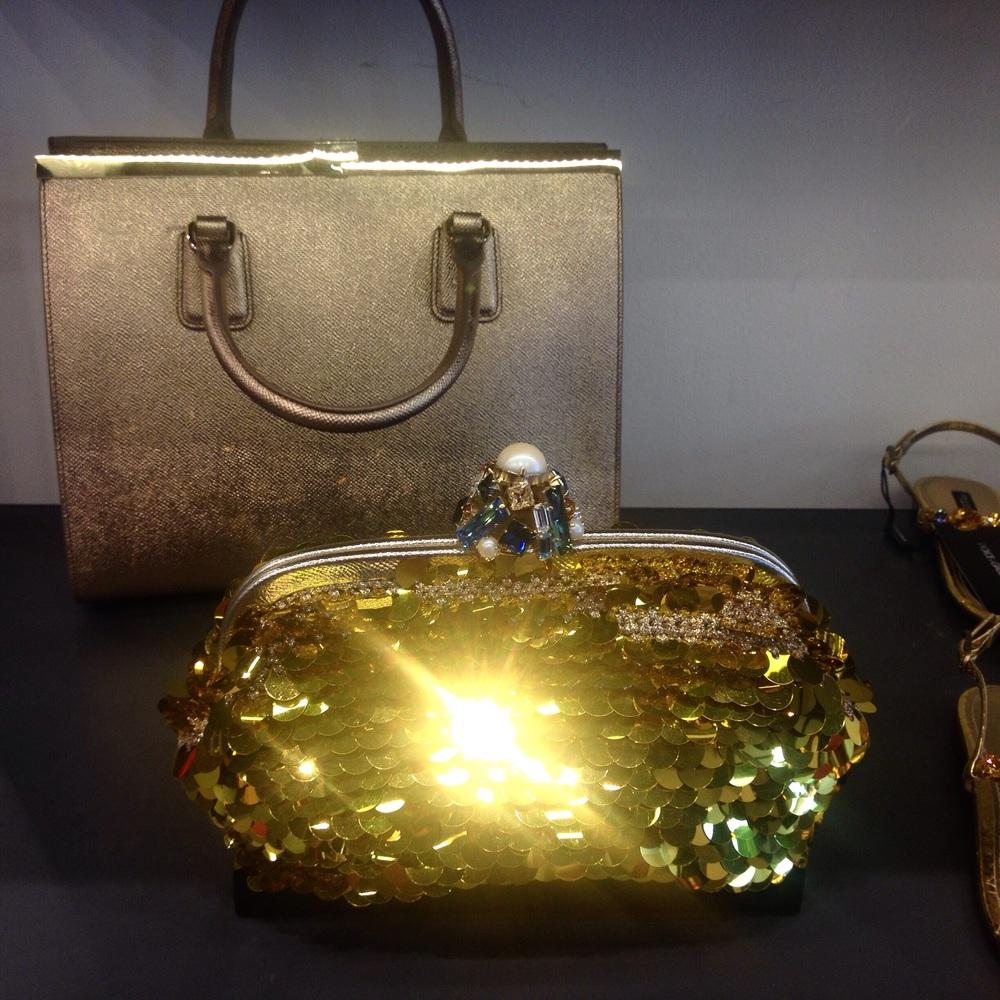 Dolce&Gabbana bags at Fidenza Village, Milan.