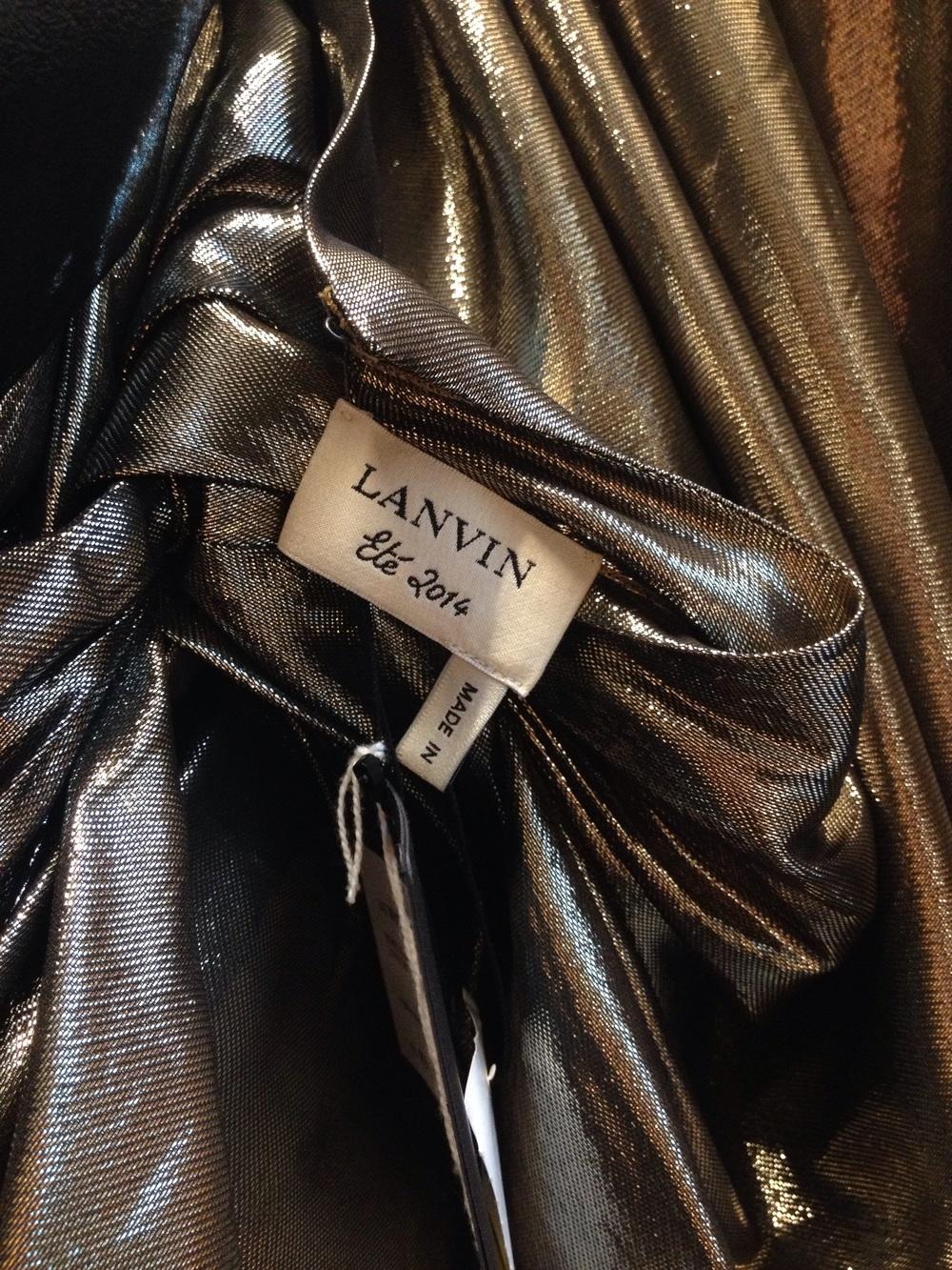 Lanvin dress at D Magazine, Milan.
