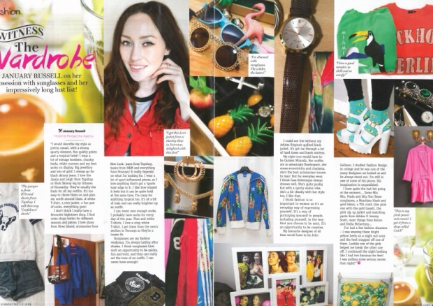 Witness the Wardrobe, a style feature for U magazine.