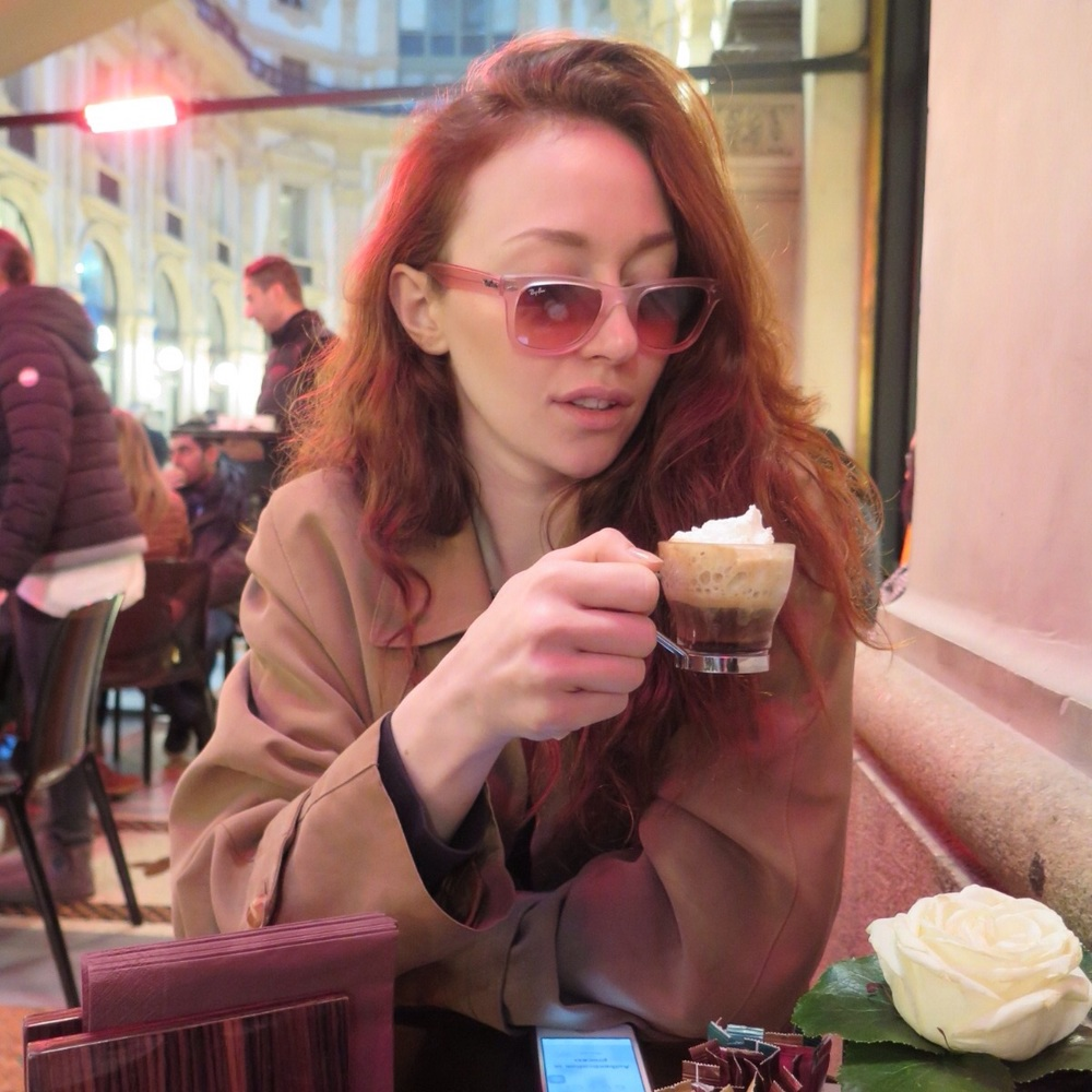 Me and my coffee with cream
