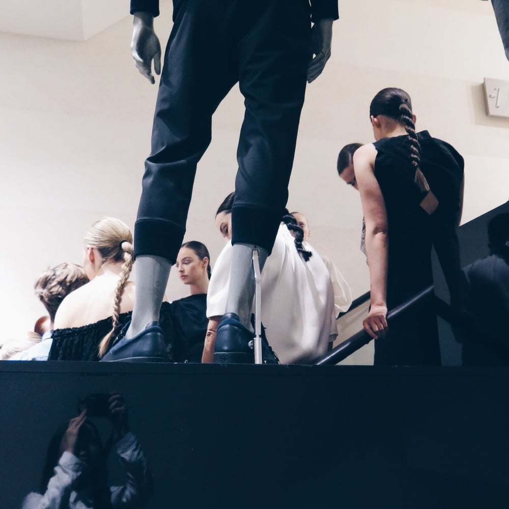 Brown Thomas Spring Summer 2016 Models Backstage