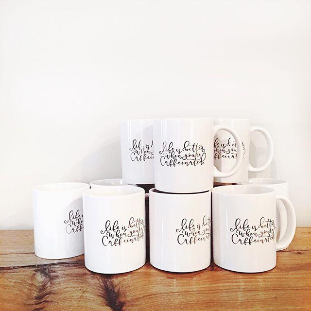 Mug life. ☕️ . (Get this mug in my shop!)
