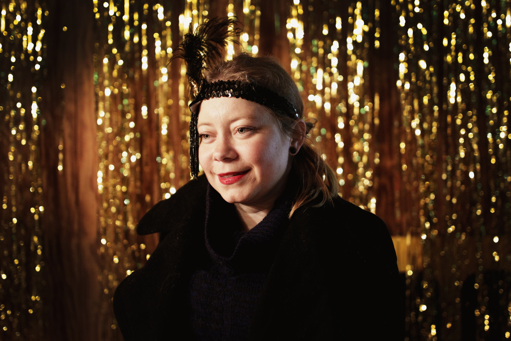 Portrait of one of the curators for Winter Wonderland, Lucy Brack.