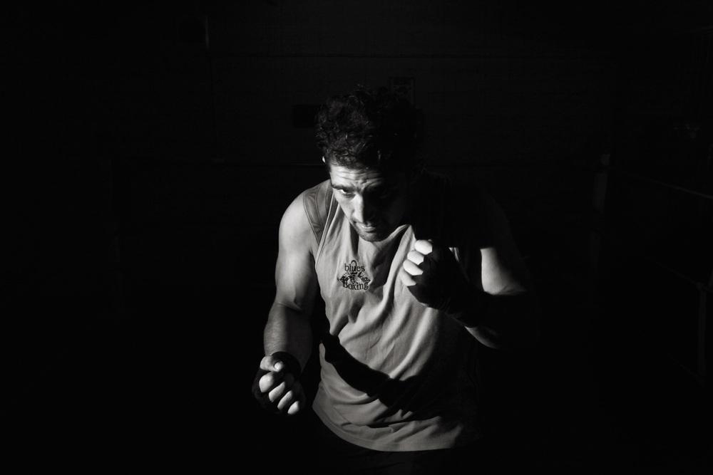 Nathan McKay, local boxer in the Cabramatta area.