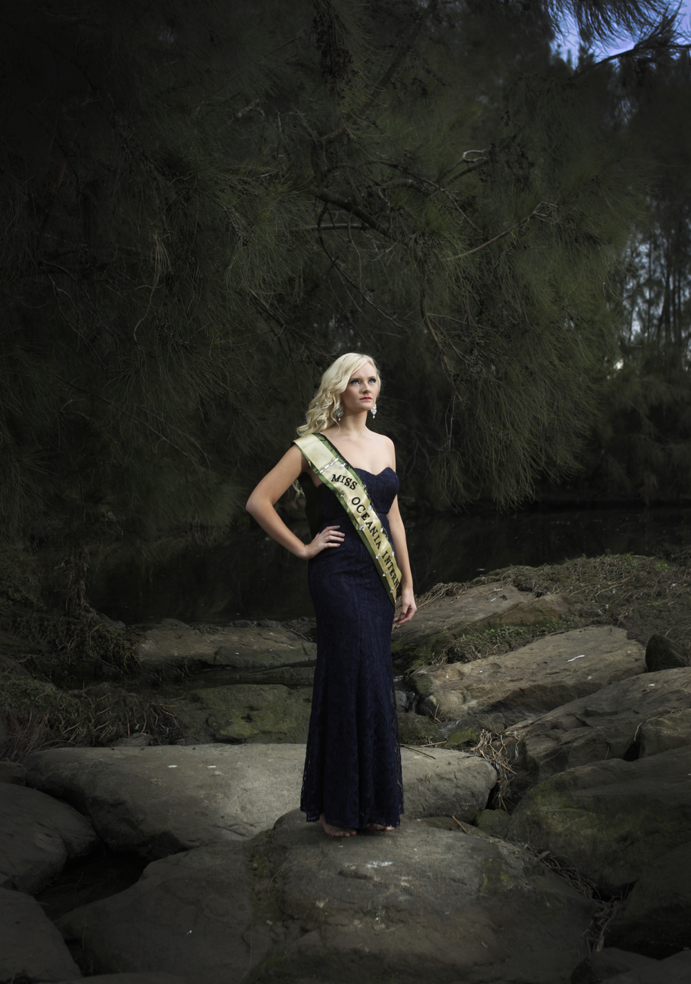 Brittany Dickson, Miss Oceania International.