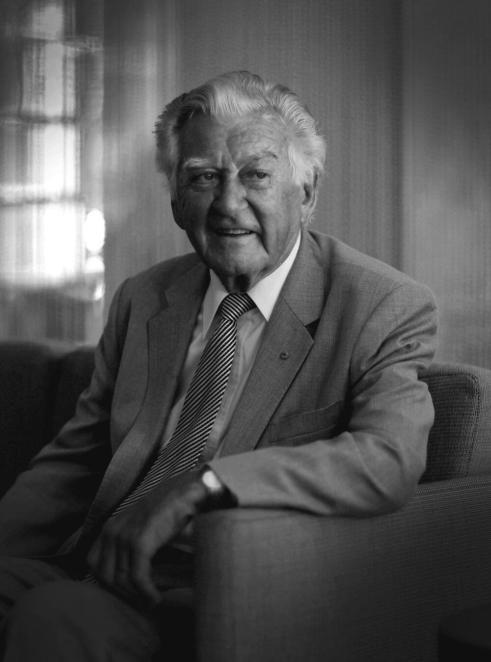 Ex Prime Minister Bob Hawke