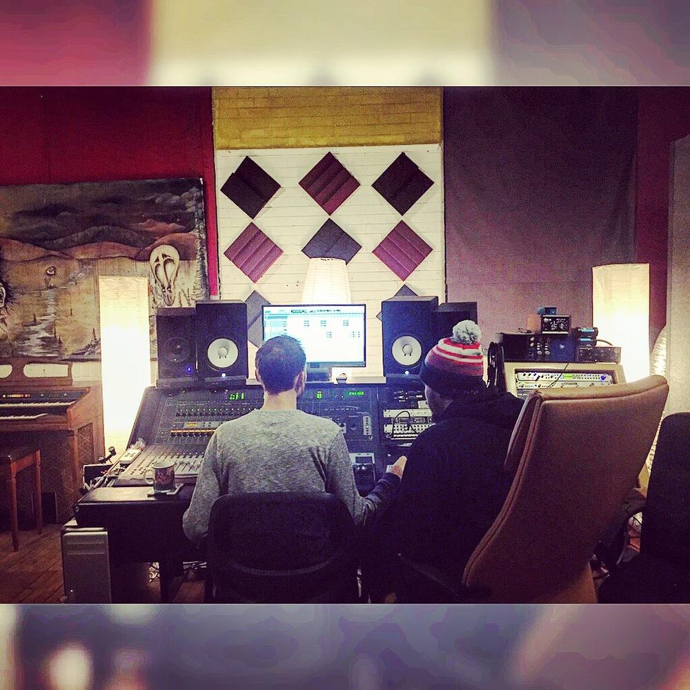 Cleveland Hip Hop Artist Claybama - In Studio