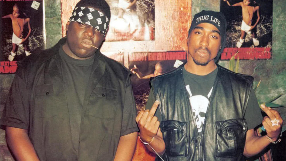 Biggie and 2Pac