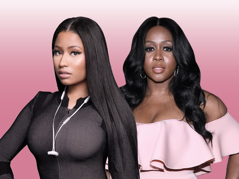 Nicki Minaj and Remy Ma