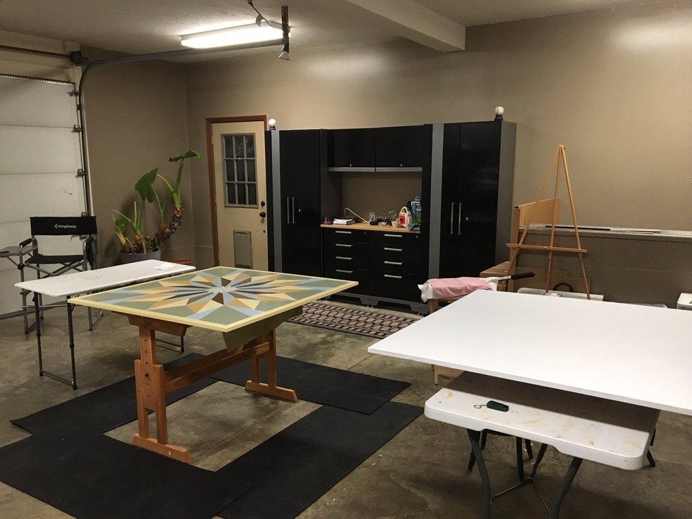 MY STUDIO - American Garden Barn Quilts