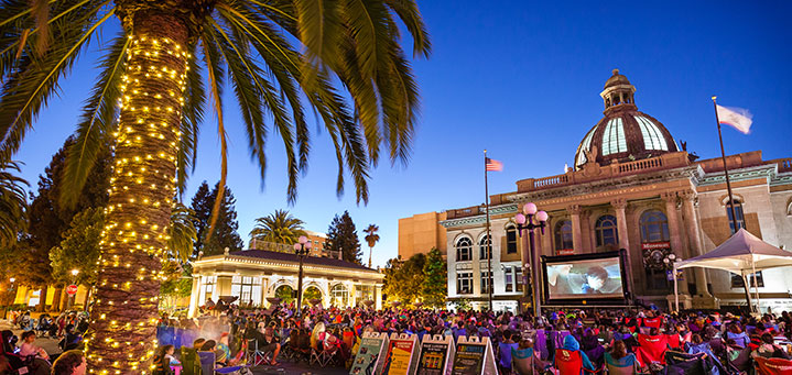 Movies on the Square -
