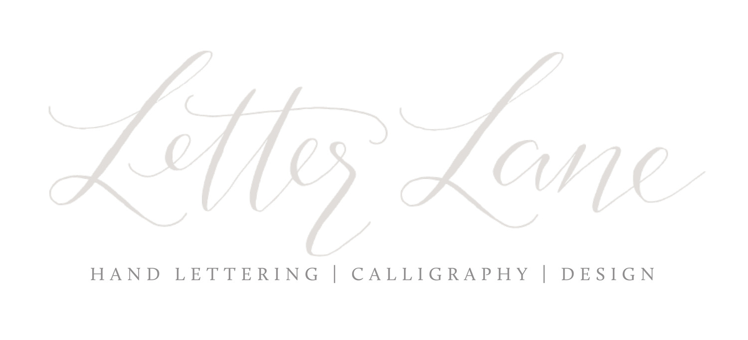 LETTER LANE DESIGN STUDIO