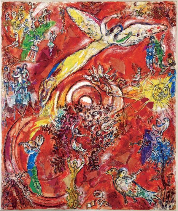 Chagall, le triomphe de la musique