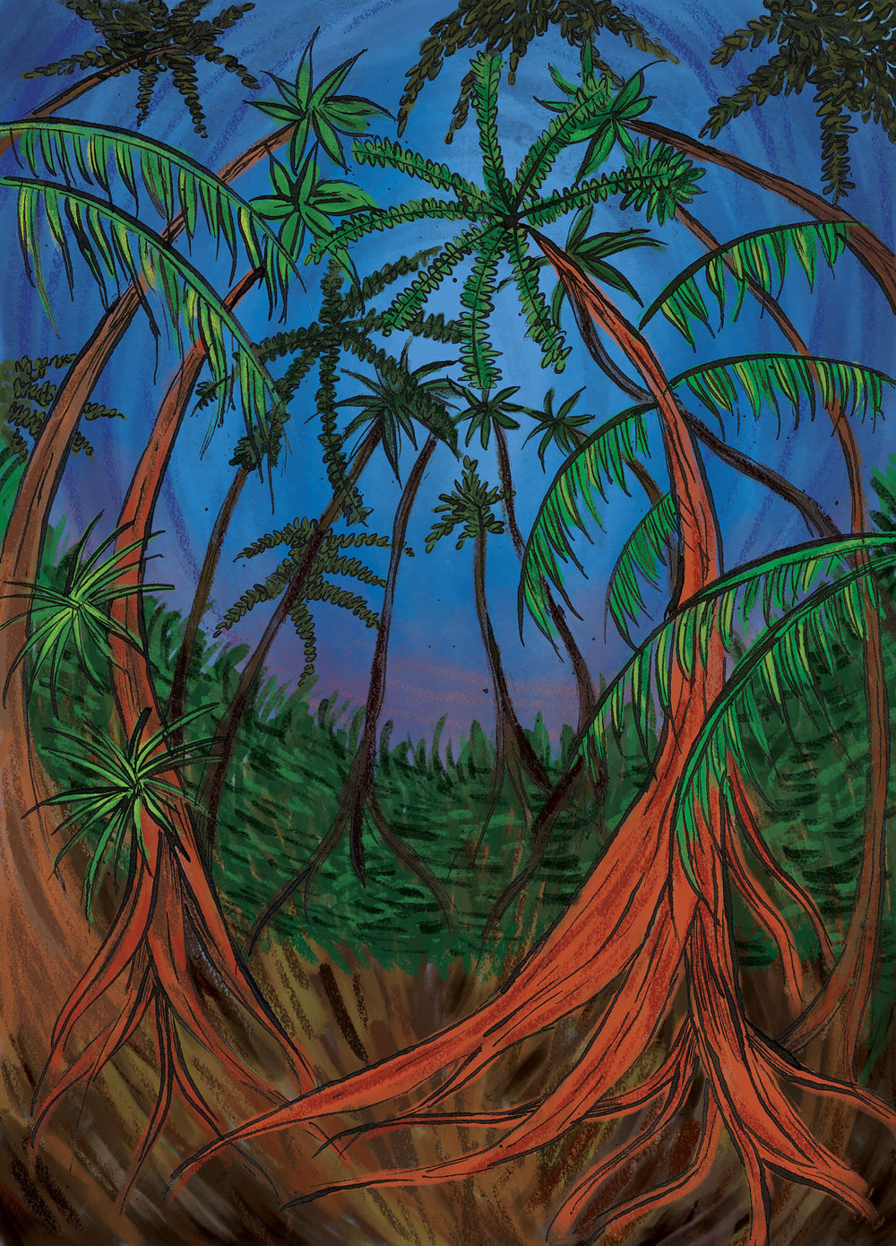 Illustration for    Animus  magazine