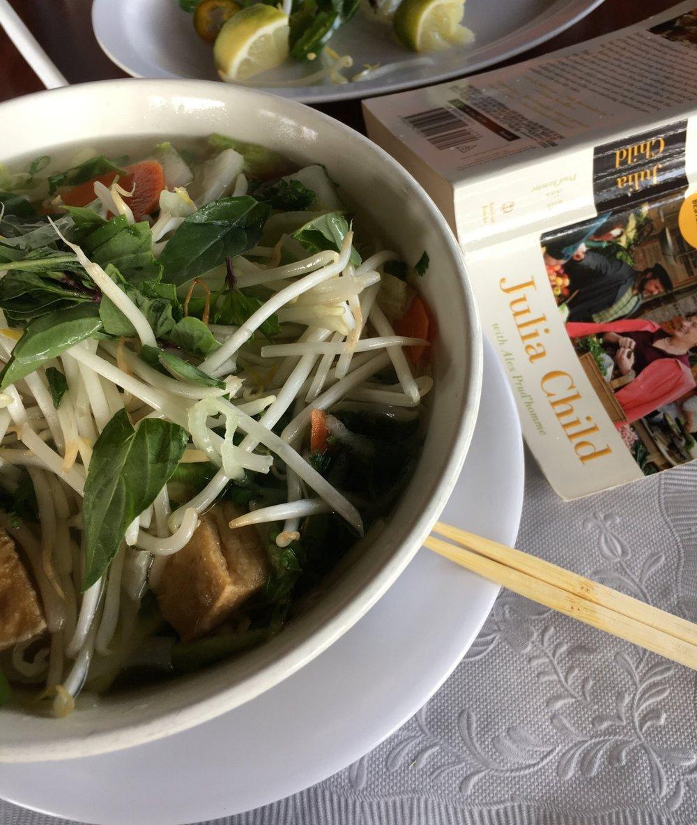 Tufu & Veggie Pho