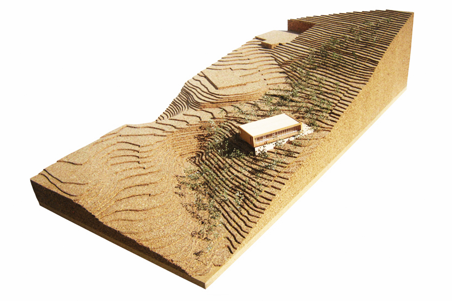 Emigration Canyon Residence Scale Architectural Site Model