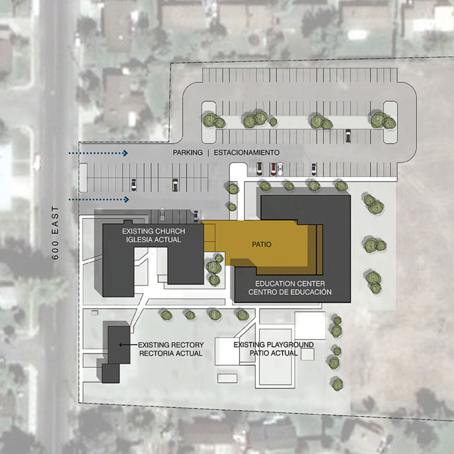 St. Peter's Education Center Program and Site Plan