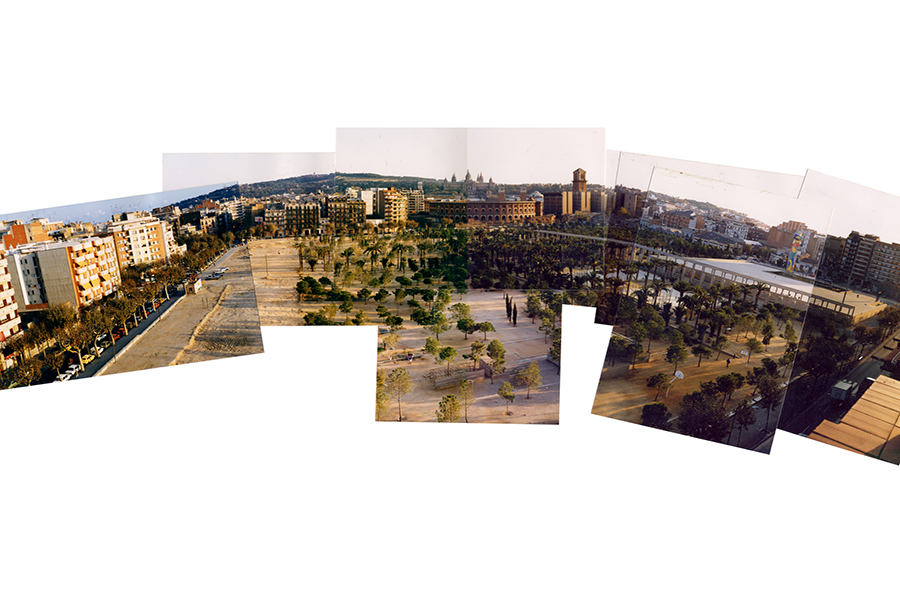 Barcelona Agricultural Museum Site Panoramic Collage