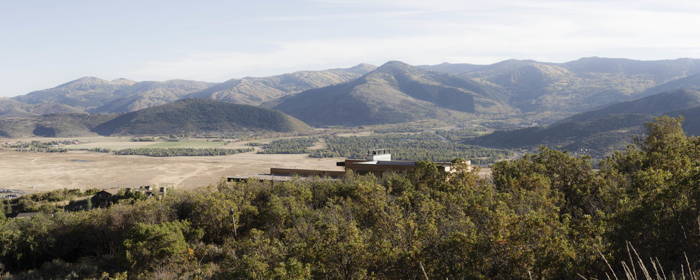 Sparano Mooney Architecture_Park City Modern Residence_Home in the Landscape
