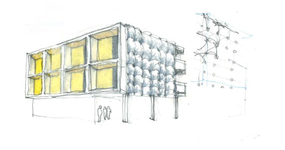 Sparano Mooney Architecture_Central 9_Process_Sketch_Facade_High Density.jpg