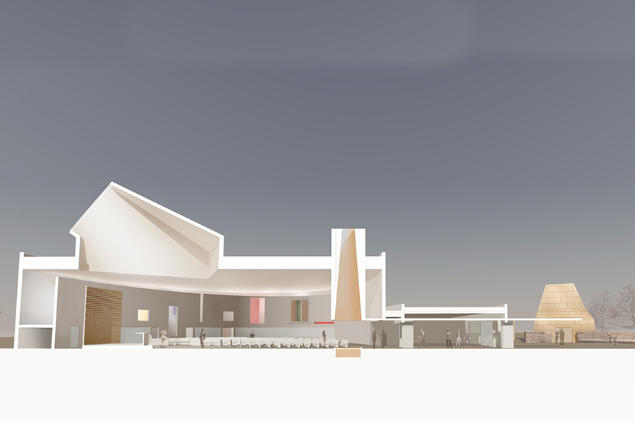 Sparano Mooney Architecture_Saint Joseph the Worker_Section Rendering.jpg