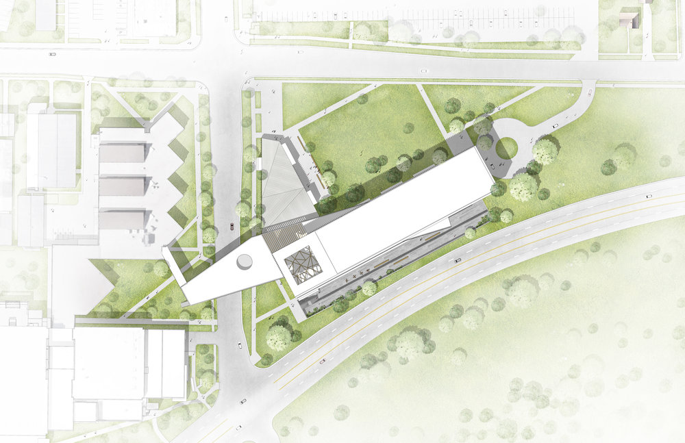 Sparano_Mooney_Architecture_USU Design Center_Building Site Plan.jpg