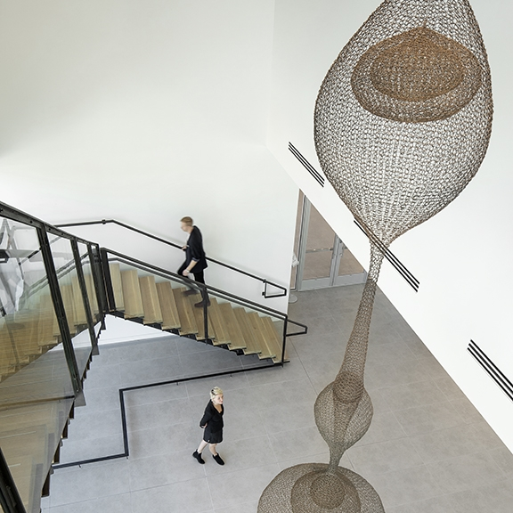 SparanoMooneyArchitecture_NEHMA_Lobby Stair Above.jpg