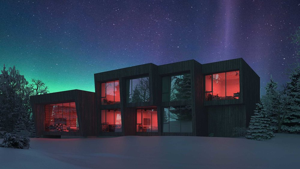 SparanoMooney Architecture_Northern Lights Lodge_Night 2 (R).jpg