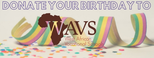 donate your birthday fundraiser