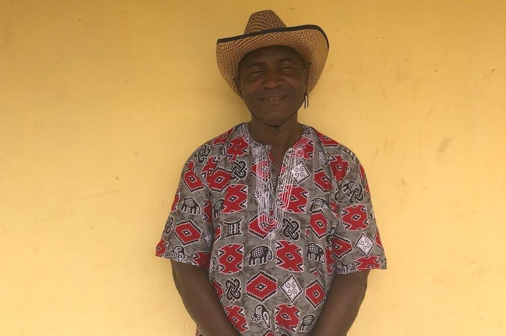 Moise Togba Delamou   English teacher