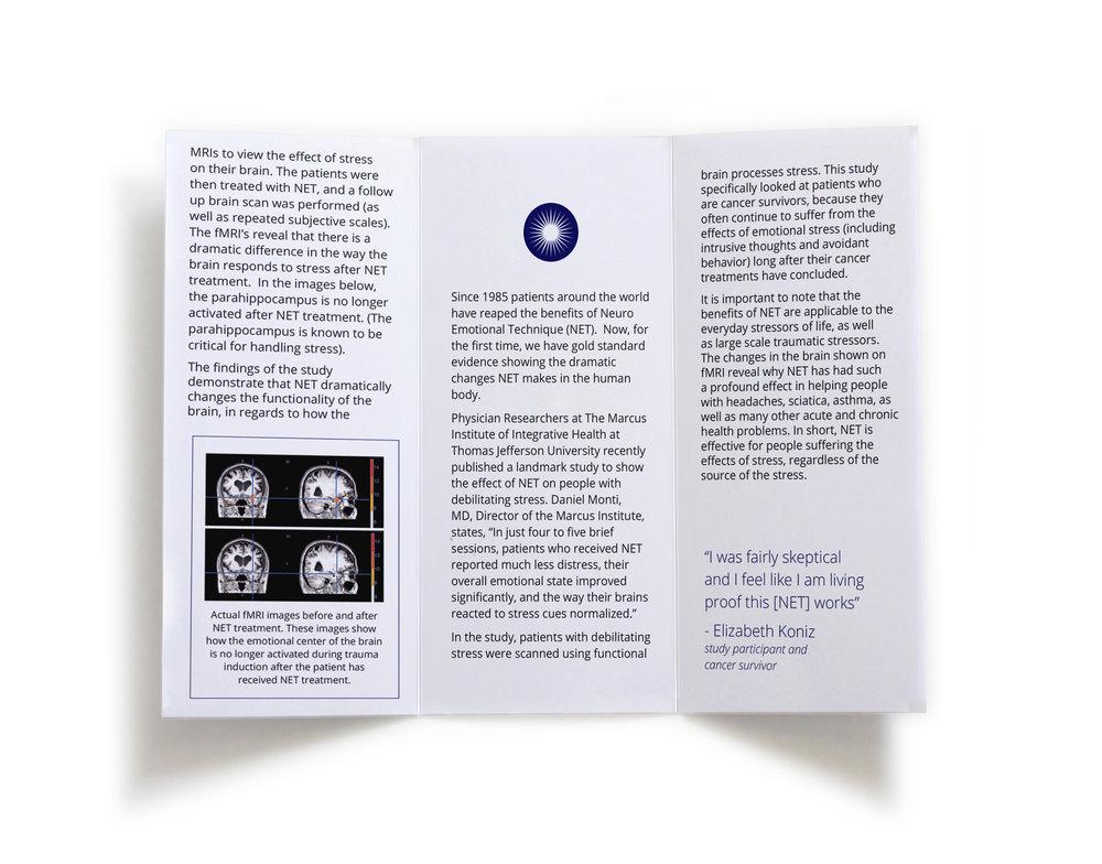 Jefferson Study brochure - inside
