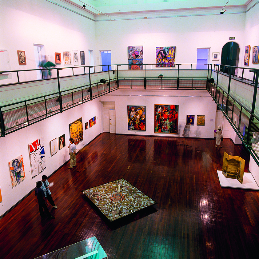 In the Company of Women exhibition at the Perth Institute of Contemporary Arts, March 1995. Courtesy Perth Institute of Contemporary Arts.
