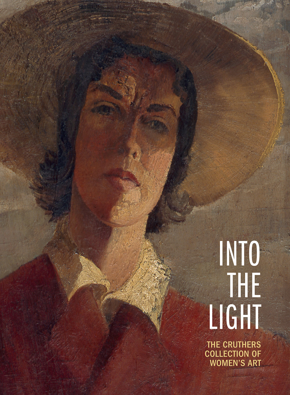Cover of  Into the Light - The Cruthers Collection of Women's Art,    University of Western Australia Publishing, 2012, pp 130.