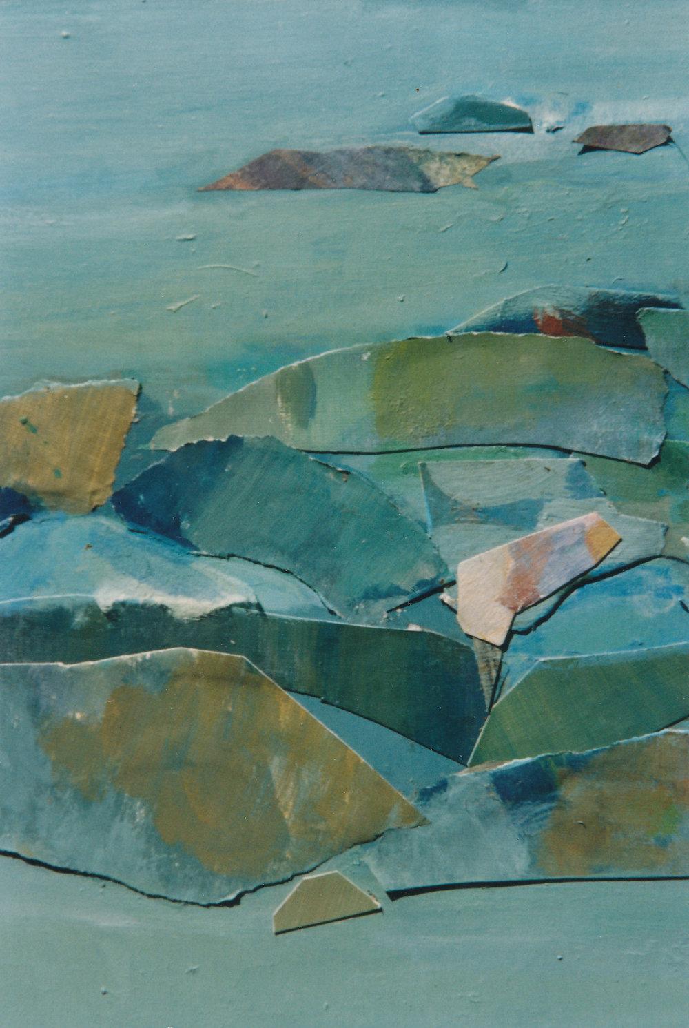 Helen Grey-Smith , Rock Pool,  1995 (detail). Photograph by Steven Gersbach.Courtesy Grey-Smith Estate.
