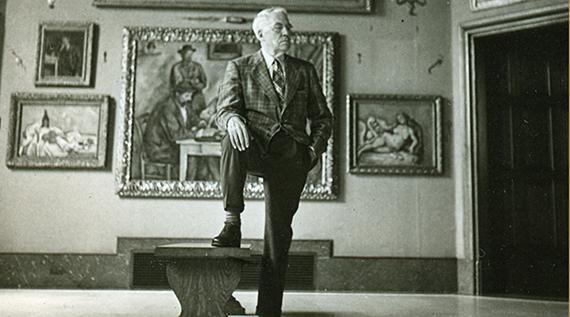 Albert Barnes in Don Argott's  The   Art of the Steal  (2009)