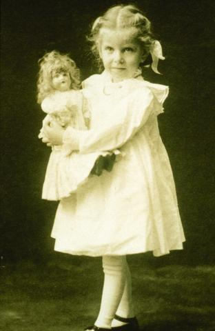 Margaret Woodbury Strong and her doll Mabel