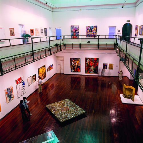 In the Company of Women  exhibition at the Perth Institute of Contemporary Arts, February 1995. Courtesy Perth Institute of Contemporary Arts.