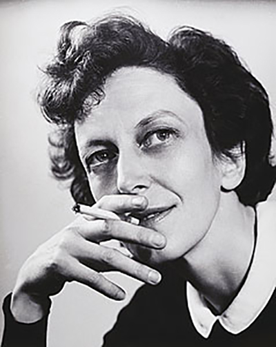 Portrait of Cynthia Reed smoking 1945, gelatin silver photograph, collection: National Gallery of Australia, Canberra, gift of the Estate of Margaret Michaelis-Sachs 1986, photograph: Margaret Michaelis